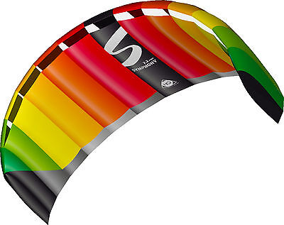 HQ Symphony Pro, 2.2 Power Kite Ready To Fly Package Colour Rainbow