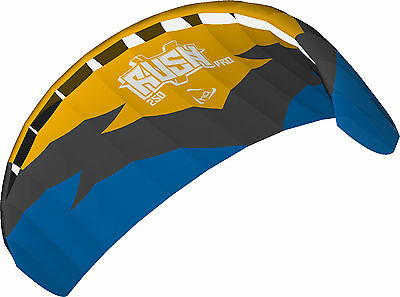 HQ Rush Pro 250 V MK5 Trainer Power Kite Ready To Fly Package