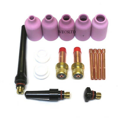 Gas Lens Kit for WP17, WP26, WP18W Tig Welding Torch