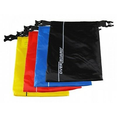 Overboard 1lt Dry Waterproof Pouch All colours available and Multipack Free Post