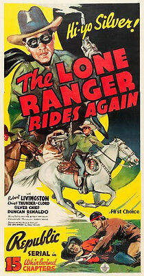 The Lone Ranger Rides Again - Cliffhanger Movie Serial DVD Robert Livingston