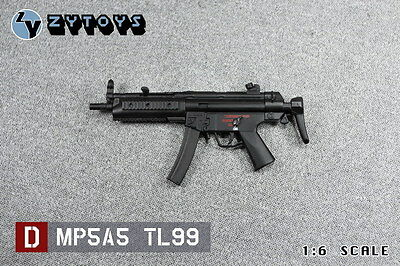 ZYTOYS 1/6 Scale MP5 weapons Series D Model MP5A5 TL99