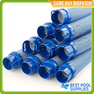 10 x 1M ZODIAC / BARACUDA TWIST LOCK / GLOBAL HOSE - SUITS MX8 T5,T3, X7 & MX6