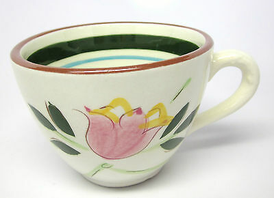 Vintage Stangl Country Garden Cup - White Background from 1956-1978