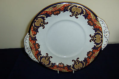 A  VINTAGE BOOTHS SILICON CHINA BREAD PLATE