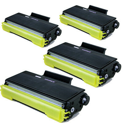 4PK Brother TN580 TN550 Toner Cartridge for Brother MFC 8460N
