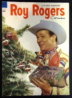 **1954 Roy Rogers #73 January Western Dell Comic Book 10 Cent Golden Age