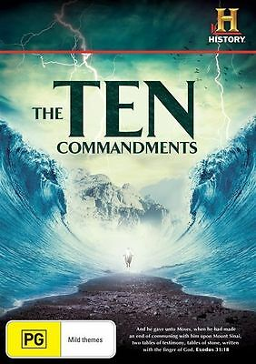 The Ten Commandments (DVD, 2012, 3-Disc Set)
