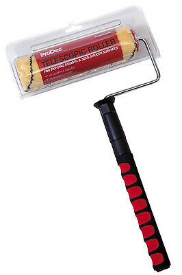 "ProDec 9"" x 1.75"" Telescopic Frame Medium Pile Sleeve Paint Roller (PRRF008)"