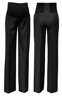 Zeta Ville - Women's Maternity Smart Pants Tailored Work Trousers UK 8-20 – 246c