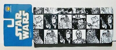 Star Wars Classic Characters Illustrated Womens Vinyl Wallet, NEW UNUSED