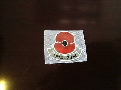 Poppy 100 years 2014 PU patch