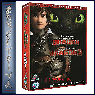 How To Train Your Dragon & How To Train Your Dragon 2   **brand New Dvd**