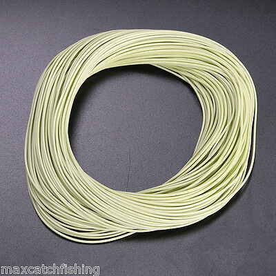 100FT - 7WT Weight forward Floating Fly fishing line WF7F -- Super smooth