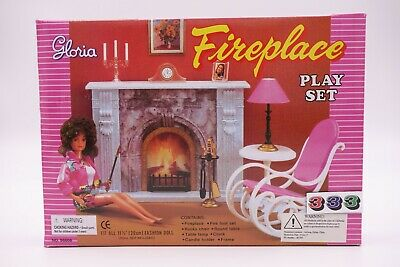 Gloria,Barbie Size Doll House Furniture/(96006) Fire Place Play Set
