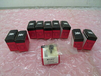 10 AMAT 3150-01001 Cam Follower 1/2 X .344, McGill CF 1/2 NS 08-4145-98 Bearings