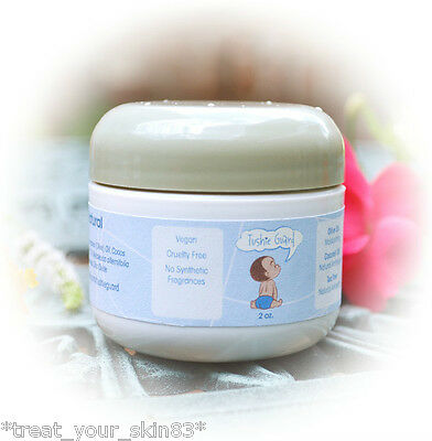 ORGANIC, ALL-NATURAL, DIAPER RASH CREAM! Pick size. Starts working immediately!