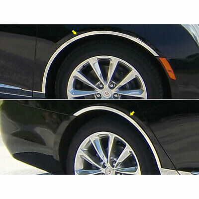 Luxury FX Chrome Fuel Gas Door Cover for 2011-2014 CTS