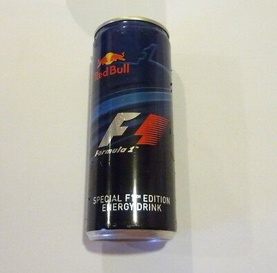 RED BULL can SINGAPORE Tall 250ml Promo 2014 Singapore F1 Grand Prix Collect