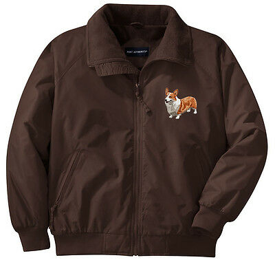 Corgi Embroidered Jacket - Left Chest - Sizes XS thru XL