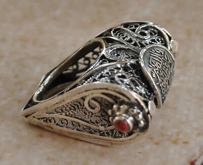 Handcrafted Middle Eastern Egyptian Arabic filigree Silver Ring