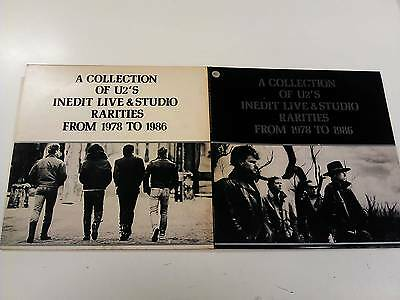 U2 A Collection Of Inedit Live & Studio 1978-1986 2Lp