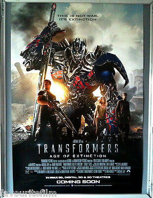 Cinema Poster: TRANSFORMERS AGE OF EXTINCTION 2014 (Main One Sht) Mark Wahlberg