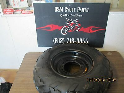 1994 Polaris Sportsman 400 4x4 Front Tire Wheel Combo 25x8-12