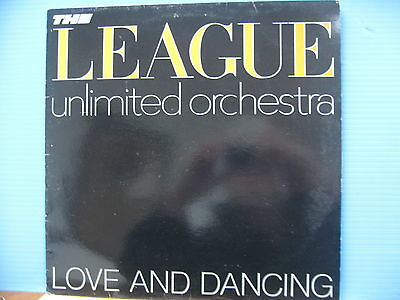 League Unlimited Orchestra - Love & Dancing plus Free UK Post
