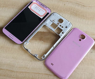 Pink Housing Lcd Screen Touch Digitizer Assembly for Samsung Galaxy S4 i9505 Lte