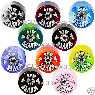 Airwave Quad Roller Skate Wheels - Marble - Pack of 8
