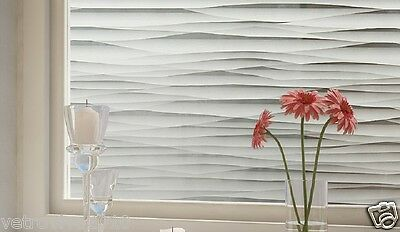 92 CM x 1 M - Sand Dunes Reapply/Reusable Static Frosted Window Glass Film