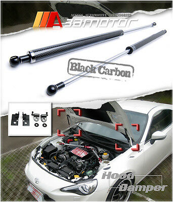 Carbon Fiber Hood Lifter Damper Kit for SCION FR-S SUBARU BRZ TOYOTA FT86 GT86