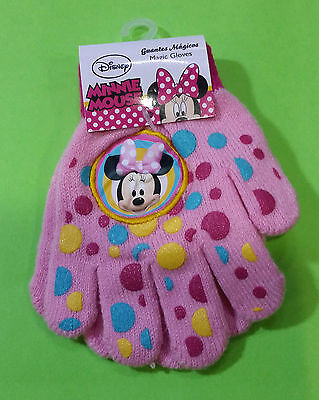 Disney Club House Minnie Guanti Gloves Minnie Mouse