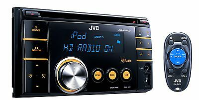 JVC Refurbished KW-HDR720 In-Dash Double DIN CD/MP3/WMA with Built-In HD/Aux/USB