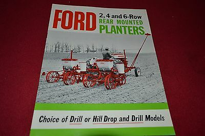 Ford Tractor 309 Planter  Dealer's Brochure LCPA2