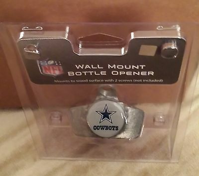 NFL Metal Wall Mount Bottle Opener Pick Your Team  Free Fast Shipping