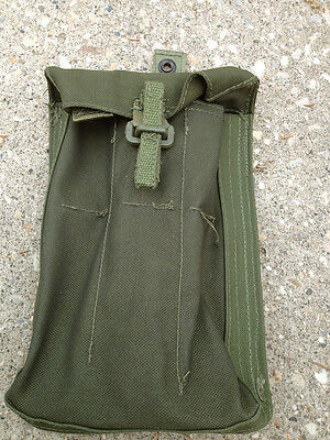 Canadian Military #7098 Wide SMG Mag Pouch Webbing 82 Pattern #3535