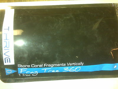 Thrive 360 Frag Tree To Store Your Coral Reef Frags Vertically In Your Tank New!