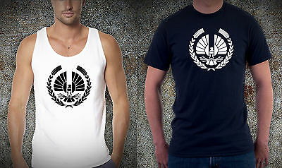 The Hunger Games The Capitol MockingJay Multicolor cotton Tshirt Singlets