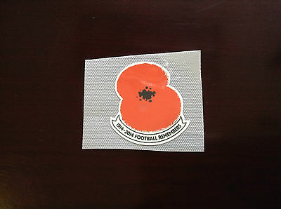 Special Poppy 100 years Anniversary REMAKE PU 2014-15 Patch