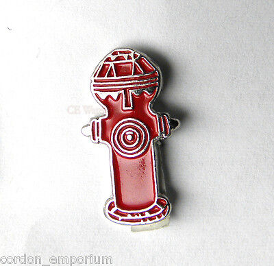 UNITED STATES FIRE FIGHTER DEPT FIRE HYDRANT LAPEL PIN BADGE 3/4 INCH