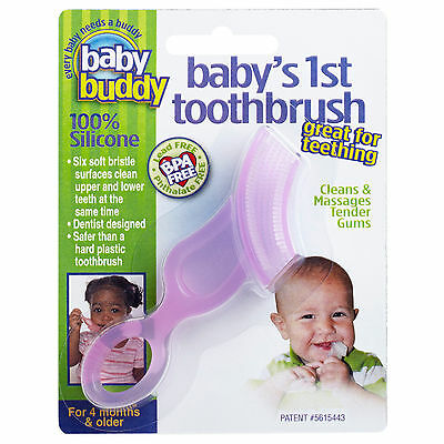 Baby Buddy Baby's 1st Toothbrush 1ct (Pink)