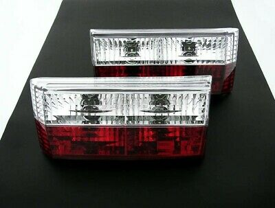 VW Golf MK1 1 Convertible Red-Clear Rear Tail Lights Lamp GTI Cabriolet  74-93