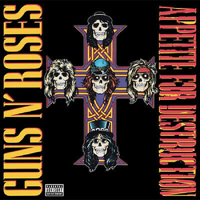 Guns N' Roses APPETITE FOR DESTRUCTION 180g AUDIOPHILE New Sealed Vinyl LP