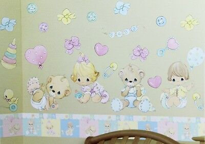 Precious Moments 20+ Baby Collection Jumbo Stick-Ups Decoration Wall Sticker