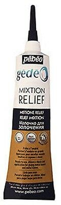 Pebeo Gedeo Relief Mixtion Gilding Foil Leaf Adhesive Glue Paste 37ml Applicator