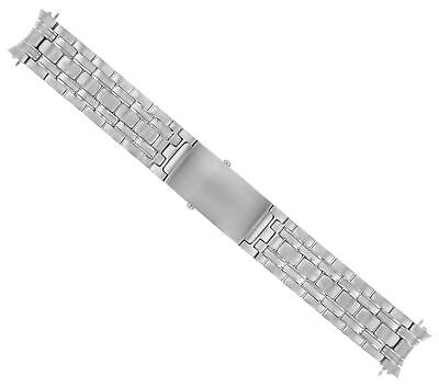 18Mm Watch Band For Omega Seamaster Midsize Heavy Bracelet Stainless Steel Top Q