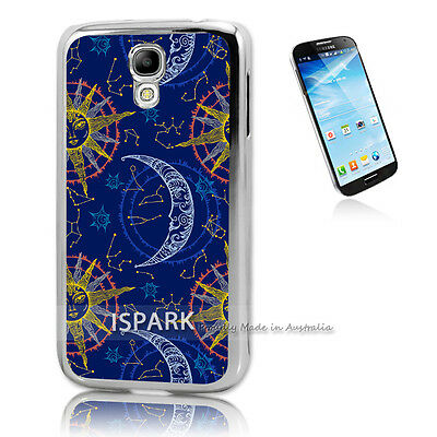 Awesome Moon and Sun Samsung Galaxy S4 Silver Print Case Cover S2275 S