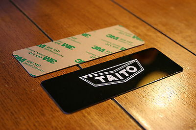Taito Coin Door Aluminum Plate (adhesive backed)
